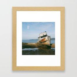 That Point Reyes Shipwreck Framed Art Print