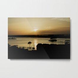 coastal sun Metal Print