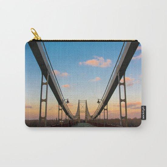 Pedestrian bridge in Kiev Carry-All Pouch