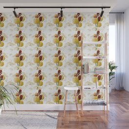 Wild bouquet Wall Mural