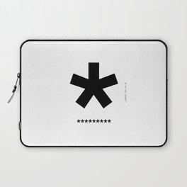 Helvetica Typoster #3 Laptop Sleeve