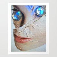 gem Art Prints featuring GEM by ALEX WAS HERE