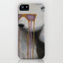 Coked Out Bear, not the soft drink iPhone Case