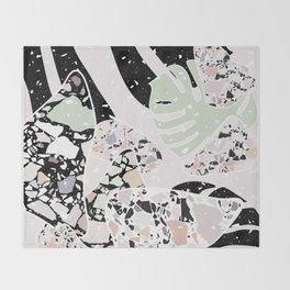 Abstract Terrazzo I. Throw Blanket