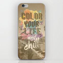 In Colour iPhone Skin