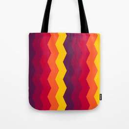 zigzag Tote Bag