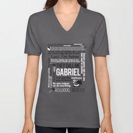 Supernatural - Gabriel Quotes Unisex V-Neck