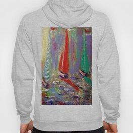sail boats Hoody