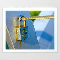 Love Locks 2012 40 Art Print