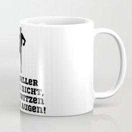 Handball Players Never Cry Coffee Mug