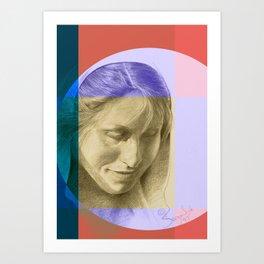Margriet 10 Art Print