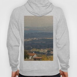 Sunset Italian countryside landscape view Hoody