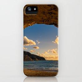 Porto Katsiki beach in Lefkas island  iPhone Case