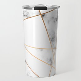 Marble Geometry 054 Travel Mug