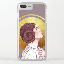 Nuestra Señora de Alderaan Clear iPhone Case