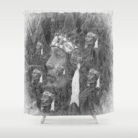 indian Shower Curtains featuring Indian by  Agostino Lo Coco