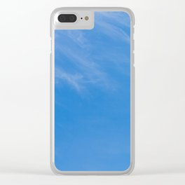 Almost Clear Clear iPhone Case