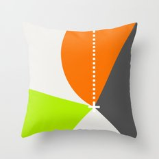 Spot Slice 02 Throw Pillow