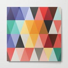 Geometrica Mosaica Metal Print