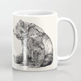 Bear // Graphite Coffee Mug