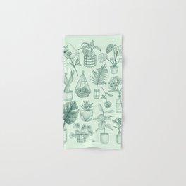 PLANTS LOVER Hand & Bath Towel
