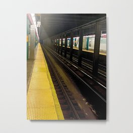 Clinton-Washington Station - Brooklyn NY Metal Print