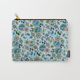 Again in Blue Carry-All Pouch