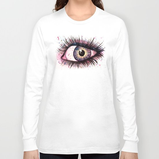 cosmic eye 2 Long Sleeve T-shirt