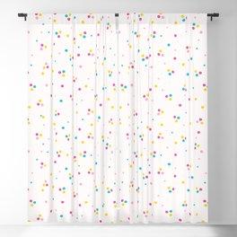 Abstract organic cut dotty circles. Blackout Curtain