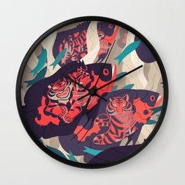Hot Pursuit Wall Clock