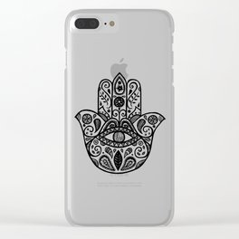 The hamsa hand Clear iPhone Case