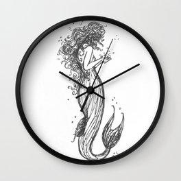 Deep Waters Wall Clock