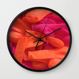 Balloon Balloons of Fun Wall Clock