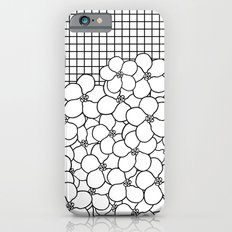 Forget Me Knot Grid iPhone 6s Slim Case