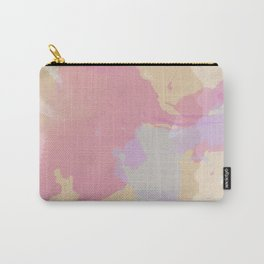 Paint Splash Pink Carry-All Pouch