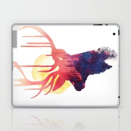 The burning sun Laptop & iPad Skin
