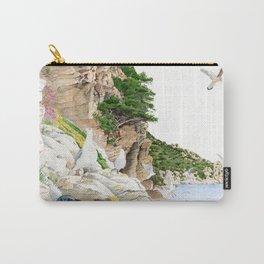Ligurian Coastline Carry-All Pouch