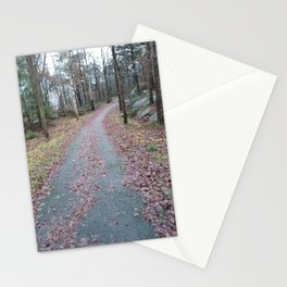 Crooked Road Print Stationery Cards