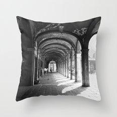 Hallway Throw Pillow