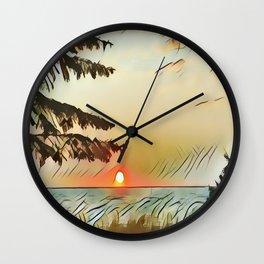 the First light Wall Clock