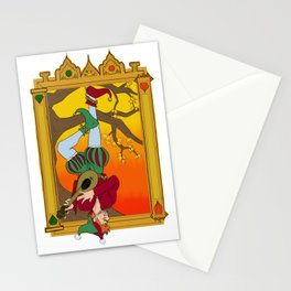 The Hangman Fool Stationery Cards
