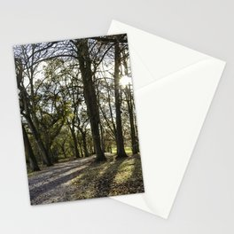 Stroll on a beautiful day Stationery Cards