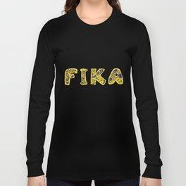 Fika- Folk style Long Sleeve T-shirt