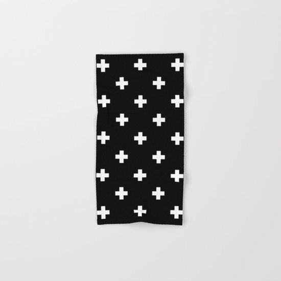 Swiss cross pattern Hand & Bath Towel