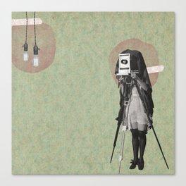 Feminine Collage II Canvas Print