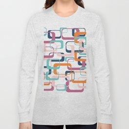 Mid Century Modern Swanky Pattern Long Sleeve T-shirt