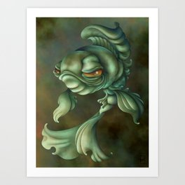 Bad Fish Art Print