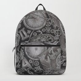 waste of time Backpack