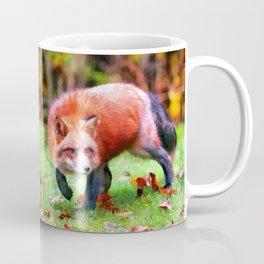 Autumn Fox hunting Coffee Mug