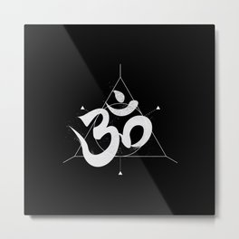Om | The Sound of Universe Metal Print